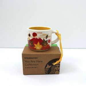 Starbucks You Are Here Ornament Japan Fall Autumn